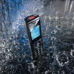 DECT 65 IP, mit Wasser Hintergrund