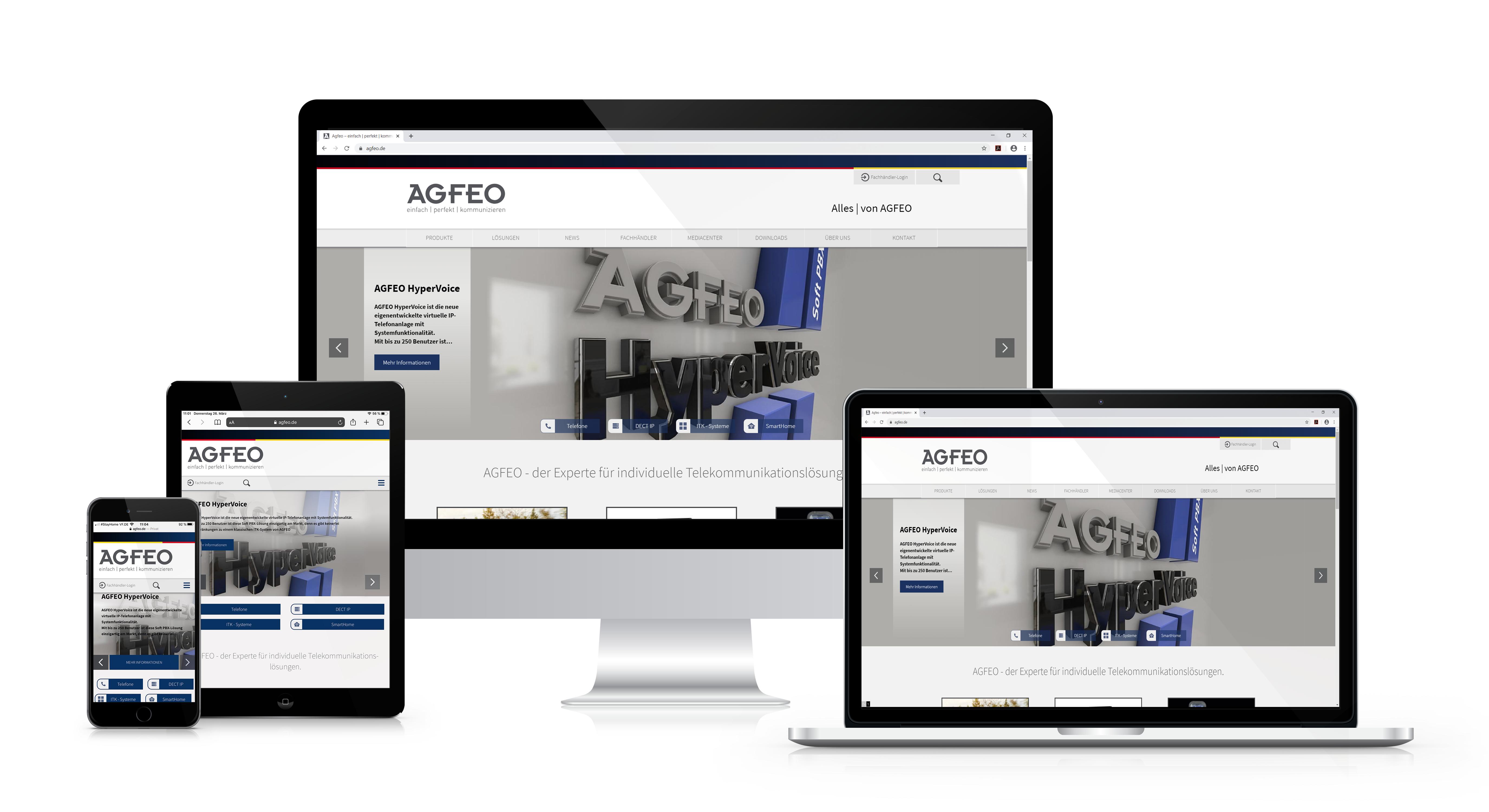AGFEO Reponsive Design