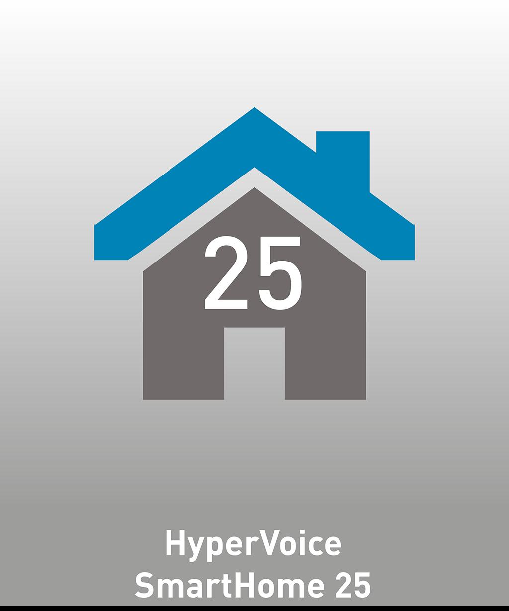 Logo der AGFEO HyperVoice SmartHome 25 Lizenz